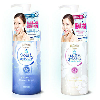 Mandom Bifesta cleansing express Bright Up or Moist Cleansing Lotion 300ml