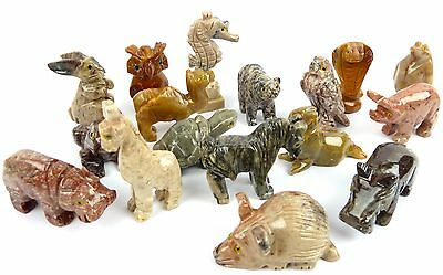 One SOAPSTONE Power Animal Carving  - Choose your Animal