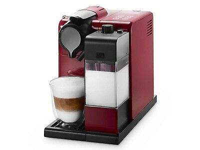 DeLonghi EN550R Lattissima Touch Nespresso Coffee Machine - Red