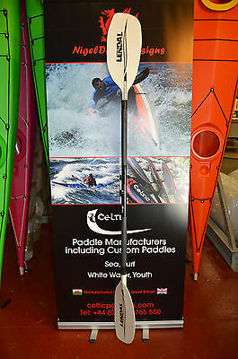 Whitewater kayak Paddle XTI, Freestyle, Whitewater.  (LF/GLASS 4P SLOK RH)