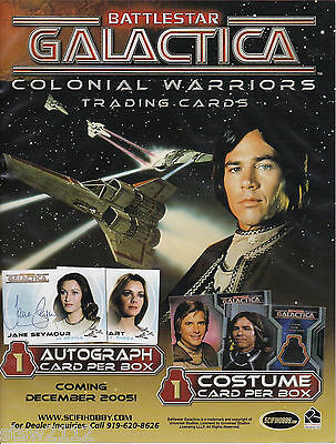Battlestar Galactica Colonial Warriors Ultra Master Set Autographs Costumes Ect+