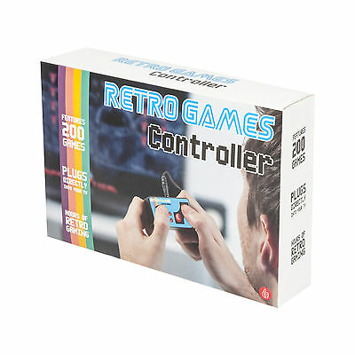 Retro Mini TV Games Controller Console 200 8 Bit Games Plug N Play Novelty Gift