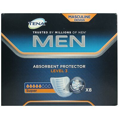 Tena Men Level 3 Absorbent Protector - 8 Pads