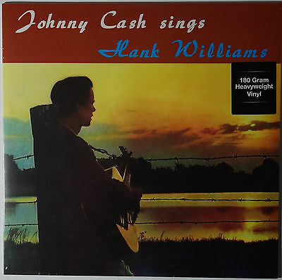 Johnny Cash - Sings Hank Williams LP 180g vinyl NEU/SEALED