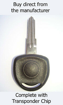 VAUXHALL ASTRA 1998 - 2004 SPARE KEY with virgin ID40 Transponder Chip.