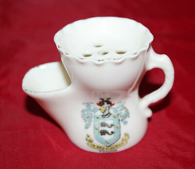 Gemma Crested China - Miniature shaving mug - Brighton