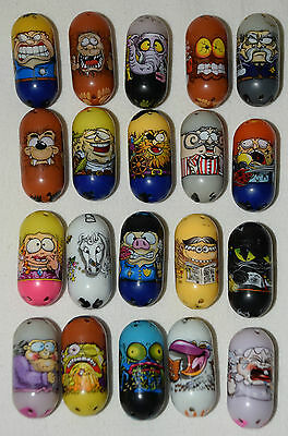 Lot of 20 Different Mighty Beanz from 2010 & 2011