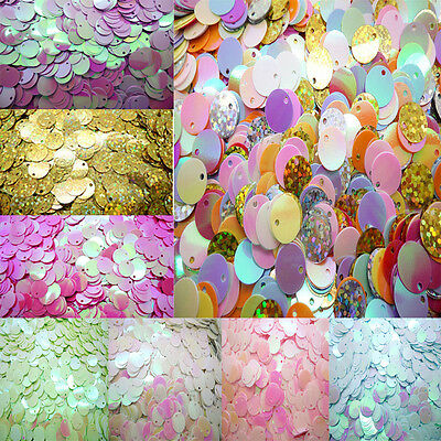 NEW 120pcs shiny Round Loose Sequins Paillettes Sewing Wedding many pick 10mm