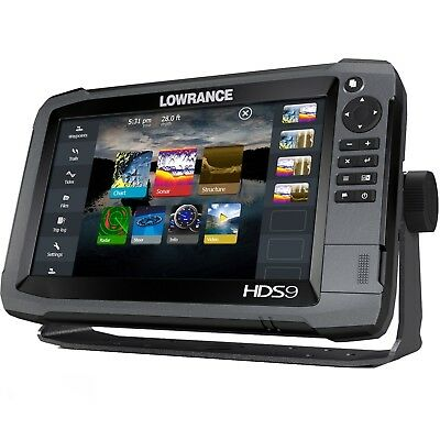 LOWRANCE HDS-9 TOUCH GEN3 - CHIRP Chartplotter / Fishfinder - No transducers