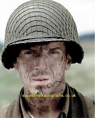 Damien Lewis Major Richard Winters Band Of Brothers B Autograph UACC RD 96