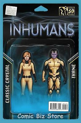 All New Inhumans #1 (2015) 1St Printing  Action Figure Two Pack Variant Cover