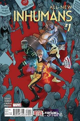 All New Inhumans #1 (2015) 1St Printing  Bagged & Boarded
