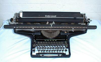 "1923 Underwood #3 Typewriter With 26"" Carriage"