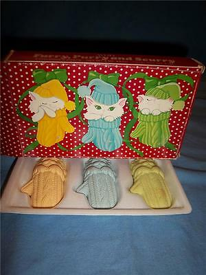 Vintage Avon Furry, Purry And Scurry Children's Soap  NIB