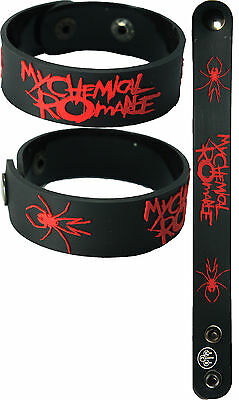 MY CHEMICAL ROMANCE  NEW! Bracelet Wristband aa157 Red Font/Danger Days