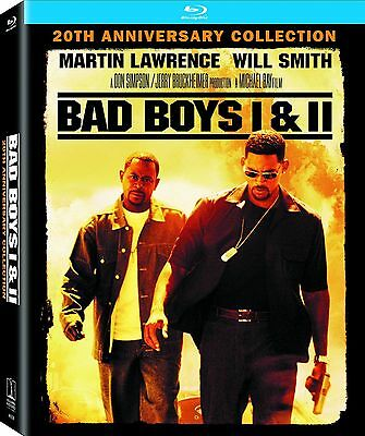 BAD BOYS 1 & II 2 (4K Remastered) 20th anniversary - Blu Ray - Region Free