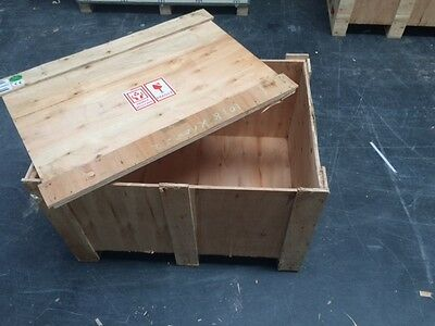 Large Wood Carton Pallet Boxes Storage Shipping Wooden Box Delivery Crate