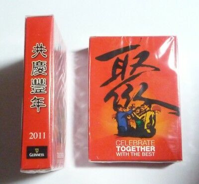 MALAYSIA Playing Cards GUINNESS STOUT Come Together Chinese New Year 2011