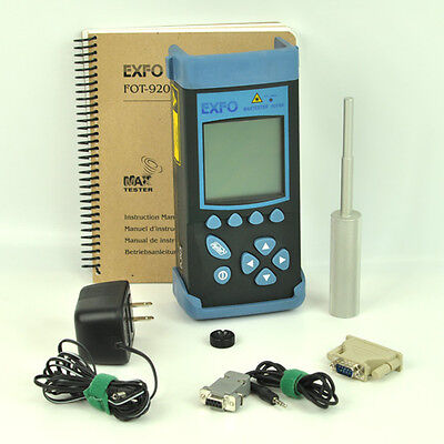 EXFO FOT-922 MaxTester Automated Loss Test Set Singlemode 1550/1625nm