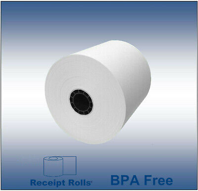 "3 1/8"" x 273' Extra Long Thermal Receipt Paper - 50 Rolls"