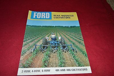 Ford Tractor Rear Mounted Cultivator Dealer's Brochure YABE6