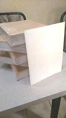 """4""""x2"""" REMOVABLE White Matte Shipping Labels for Laser - 1 box; 10,000 labels"""