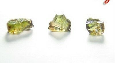 Fine Green/Pink, Very Clean Andalusite Gem Facet Rough #6sx