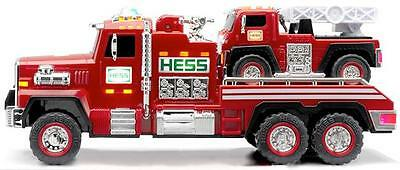 Hess 2015 Hess Toy Truck Fire Truck And Ladder Rescue Combine Ship In Stock