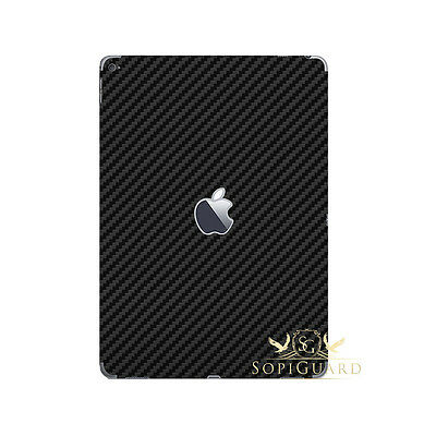 Carbon Fiber Skin Rear Back Film Protector for Apple iPad Air 2