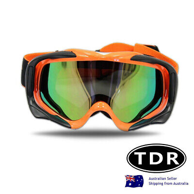 Orange Motocross MTB Off-Road Dirt Bike Adult Teen Goggles Dirt Bike Gear-MX