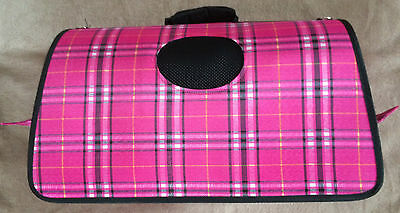 Pink bag for cats or dogs  new without tag