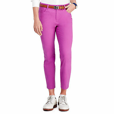 Polo Golf Women's Golf Pant Purple  Size 10 Nwt