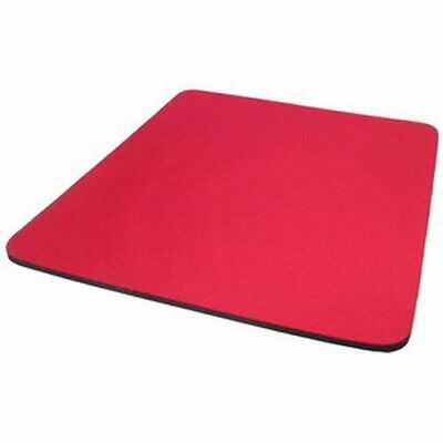 RED 5mm Fabric Mouse Mat Pad SPECIAL OFFER