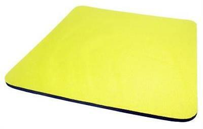 YELLOW 5mm Fabric Mouse Mat Pad SPECIAL OFFER