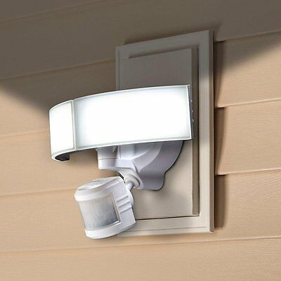 New Defiant Outdoor LED Bluetooth 270 Degree Motion Security Light  DFI-5985-WH