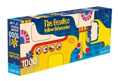 The Beatles Yellow Submarine Collage 1000 Piece Slim Jigsaw Puzzle, NEW SEALED