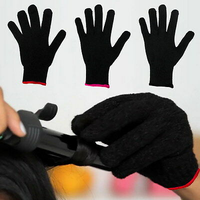 2PCS Heat Resistant Glove For Hair Styling Heat Blocking For Curling Styling