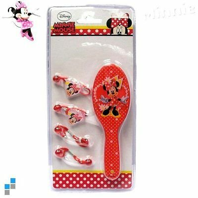 Set Spazzola - Fermacapelli Disney Minnie