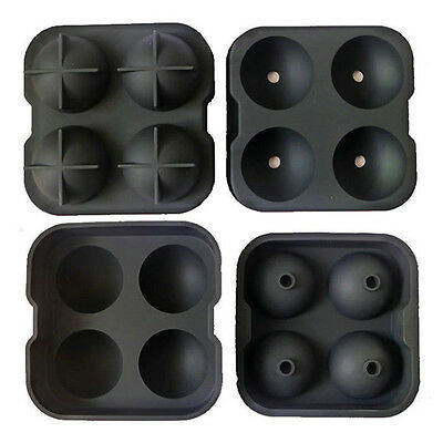 Whiskey Ice Cube Ball Tray Brick Round Maker Mold Sphere Mould Bar Silicone O20
