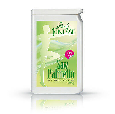 Saw Palmetto 1000mg - 365 tablets - 4-12 month supply - Prostate Urinary health