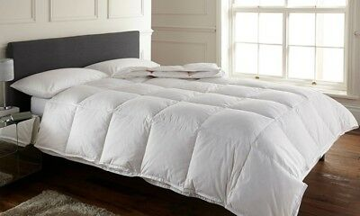 Luxurious White Duck Feather Duvet Quilt - 13.5 and 15 TOG