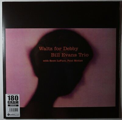 Bill Evans Trio - Waltz for Debby LP 180g remastered vinyl NEU/OVP/SEALED