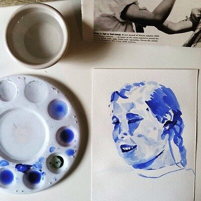 Custom Watercolor Portrait Based On Your Photograph