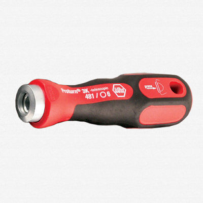 Wiha 133016 Drive-Loc VI 3K Compact Screwdriver Handle