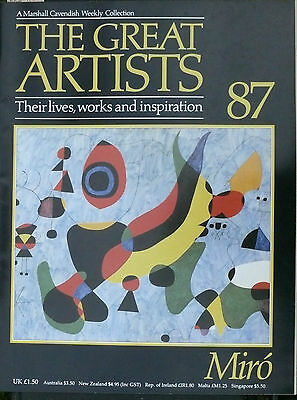 The Great Artists Miro - 87