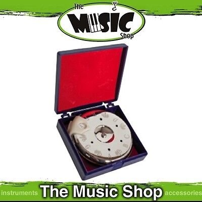 New Johnson Chromatic Pitch Pipe with Nickel Plated Casing F-F - ME632 Pitchpipe