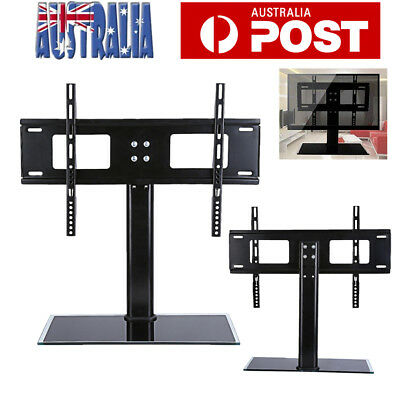 "37-55"" Universal TV Stand LCD LED Plasma Bracket VESA Mount Desktop Monitor Rack"