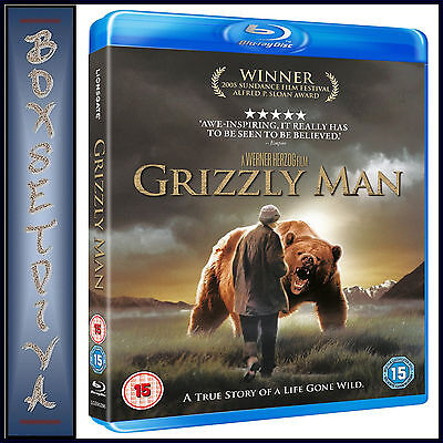 Grizzly Man - A True Story Of A Life Gone Wild *brand New Blu-Ray ***