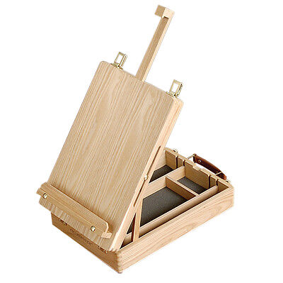 Loxley CHATSWORTH EARL Artists Wooden Table Top Easel with Storage Box
