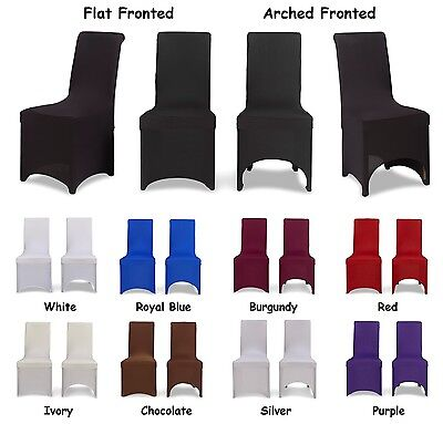 Dining Chair Covers, flat arched, 1/4/6/8/10pcs, slip seat covers
